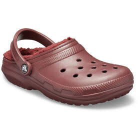 Crocs Classic Lined Clogs zoccoli, burgundy/burgundy